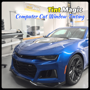 Chevrolet Camaro at Tint Magic Window Tinting Coral Springs