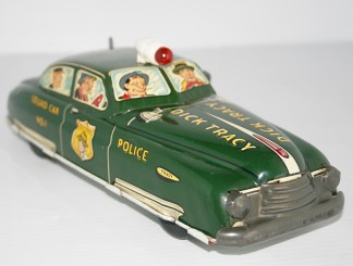 Dick Tracy Squad Car Marx Toys