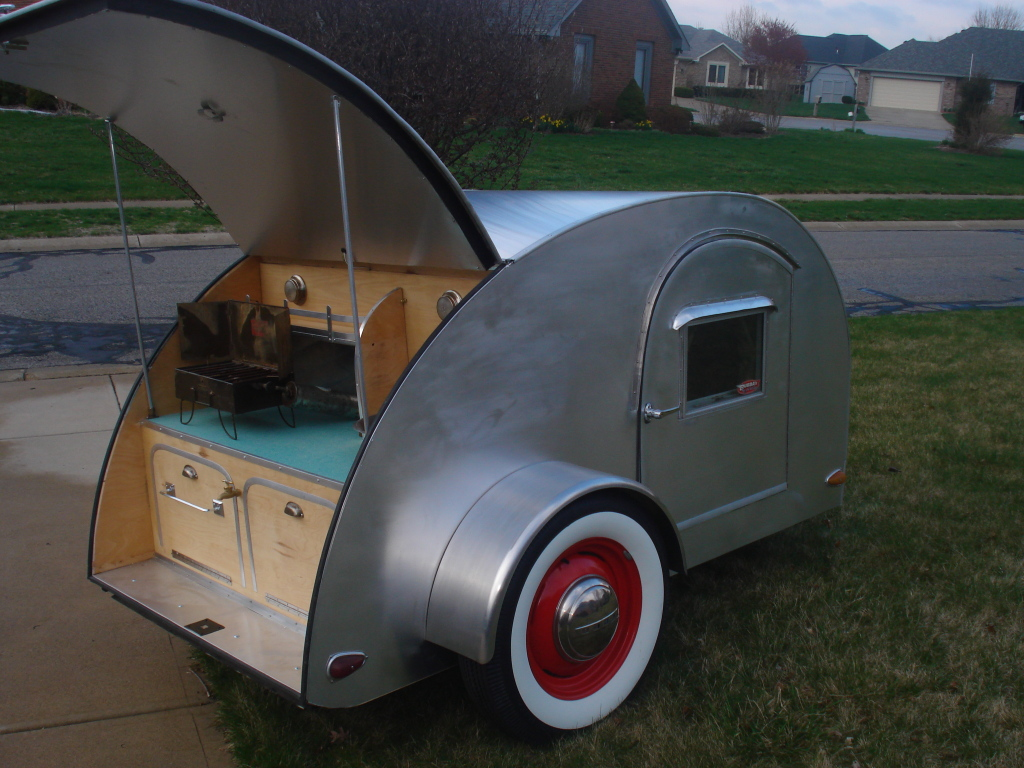 A collection of custom teardrop trailers tiny house design