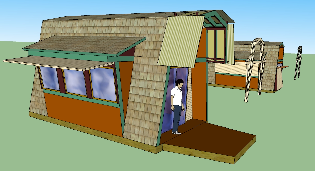 Sketchup Tiny House Plans House Design Ideas