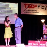 Hari organized and emceed TEDxFloyd, April, 2013.