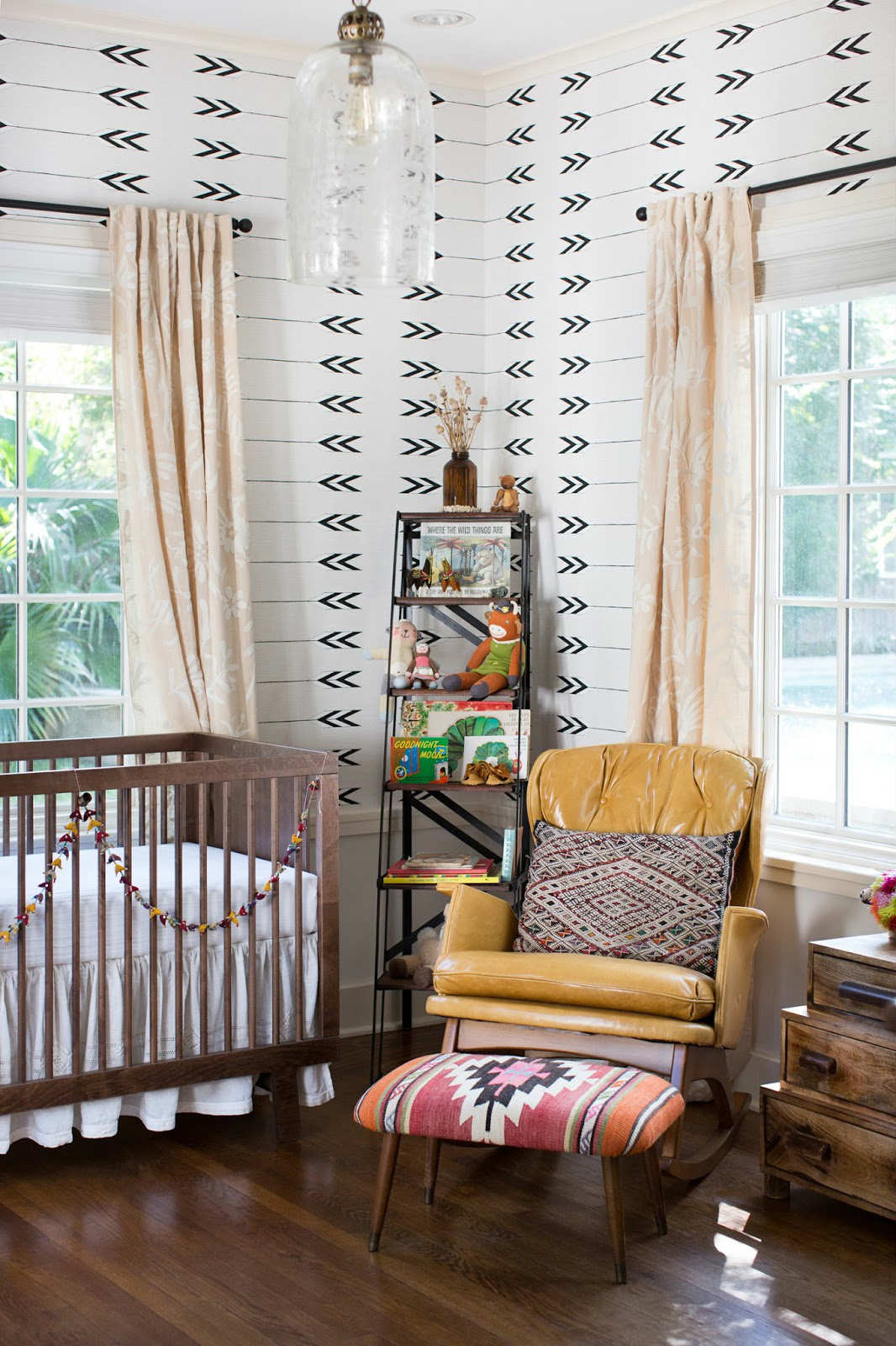 Pinterest Girls Kids Rooms With Wood Wallpaper 10 Aztec Kids Rooms Tinyme Blog