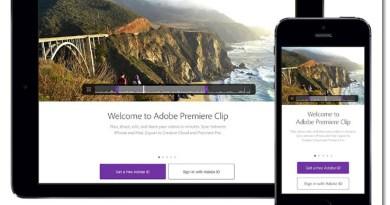 adobe premiere clip home