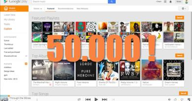 google play music 50000