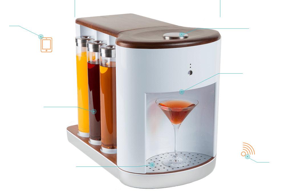somabar la machine cocktail connect e tinynews. Black Bedroom Furniture Sets. Home Design Ideas