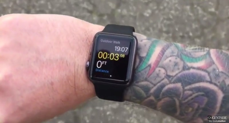 apple watch tatoo