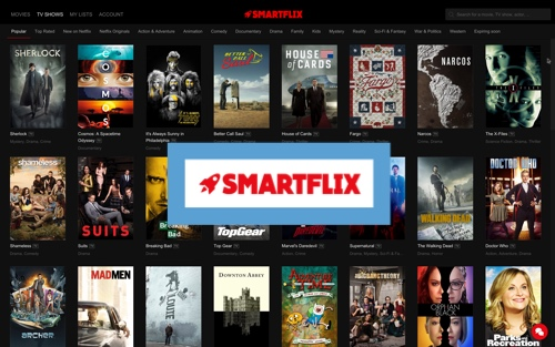 SmartFlix – Netflix, version mondiale