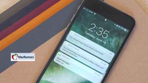 iOS 10 – Découvrez les nouveautés du lock screen