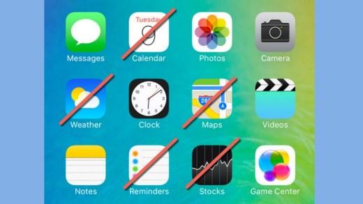 iOS 10 – Vous allez (enfin) pouvoir supprimer les Apps inutiles