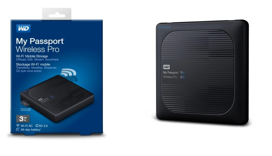 My Passport Wireless Pro – Stockage nomade pour la rando ?