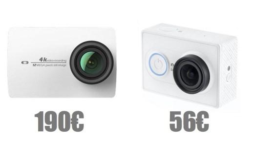 Les action cams Xiaomi Yi 1 et 2 sont en promos !