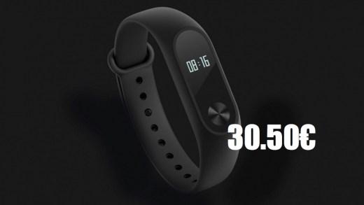 Xiaomi Mi Band 2 – De retour en stock à 30.50€
