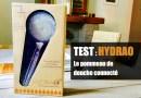 Test – Hydrao, le pommeau de douche français … et connecté !