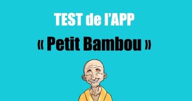 TEST – Petit Bambou – L'App pour apprendre à méditer