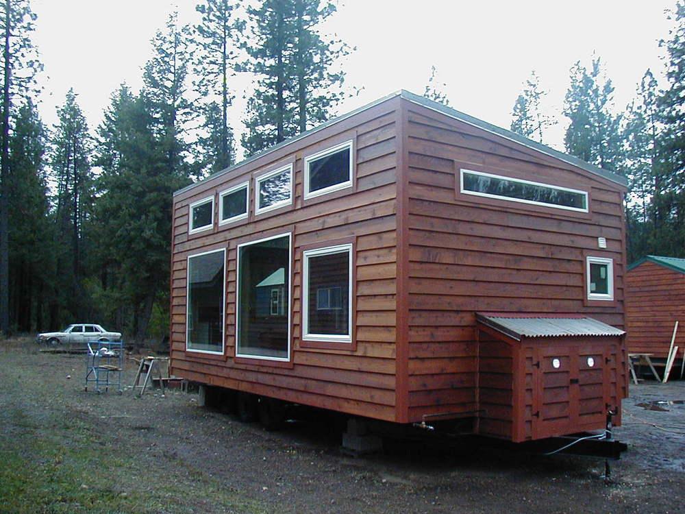 Models Tiny Portable Cedar Cabins