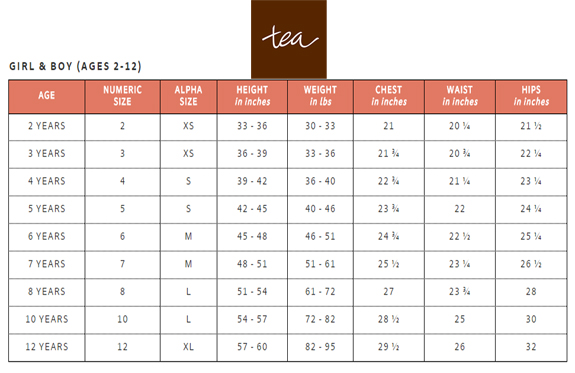 Kids Shoes Size Charts and Sizing Help - TinySoles