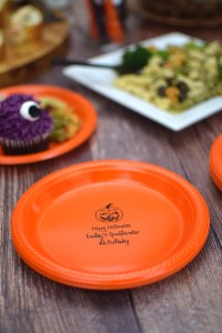 Halloween Party Plates | Personalized Plastic Dinner ...