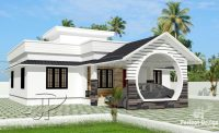 1108 Square Feet 3 Bedroom Low Cost Single Floor Home ...