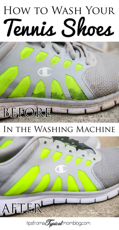 washing sneakers in washing machine