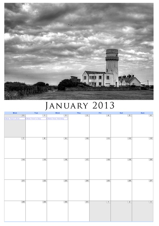 Making An Easy Photo Calendar in Photoshop - Eric Renno