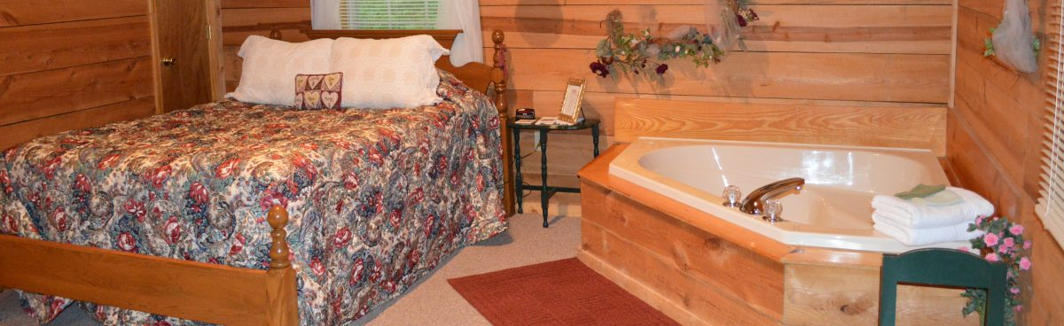 honeymoon cabin in townsend