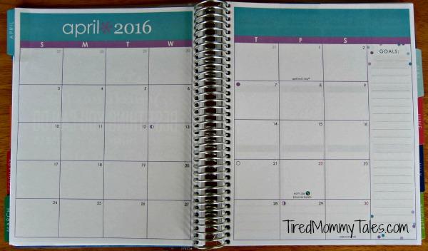 Erin Condren LifePlanner Unboxing - Month View