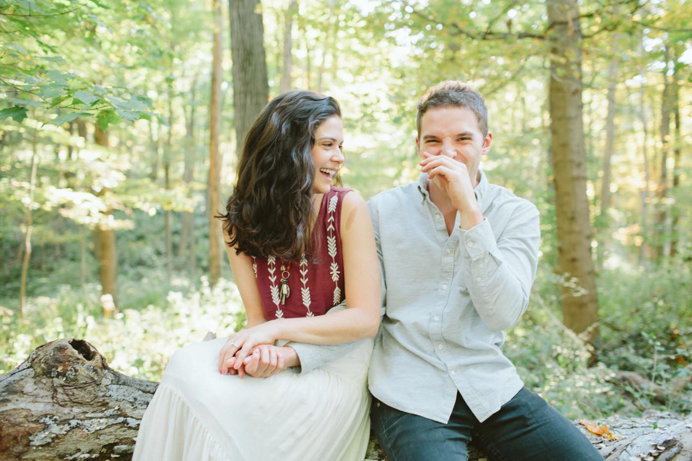 Tire Swing Photography | Cincinnati Ohio Woodland Forest Engagement session_0020