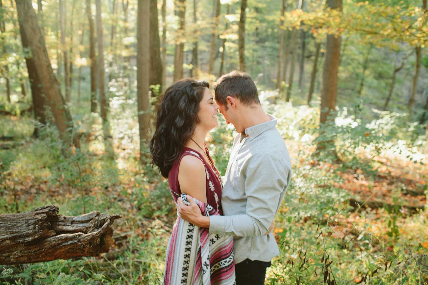 Tire Swing Photography | Cincinnati Ohio Woodland Forest Engagement session_0033