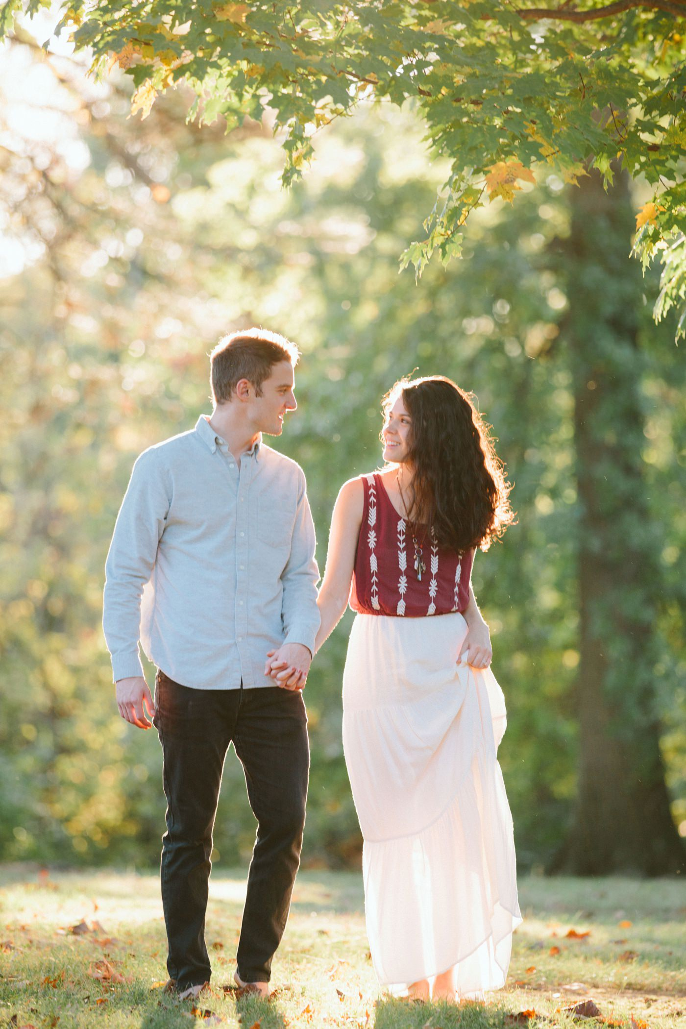Tire Swing Photography | Cincinnati Ohio Woodland Forest Engagement session_0038