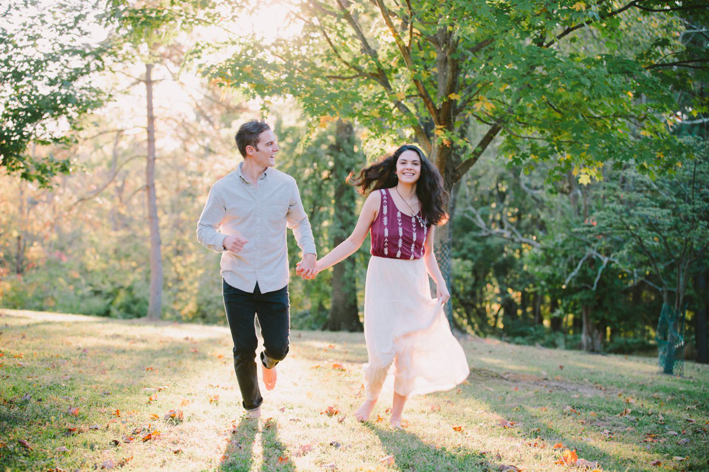 Tire Swing Photography | Cincinnati Ohio Woodland Forest Engagement session_0039