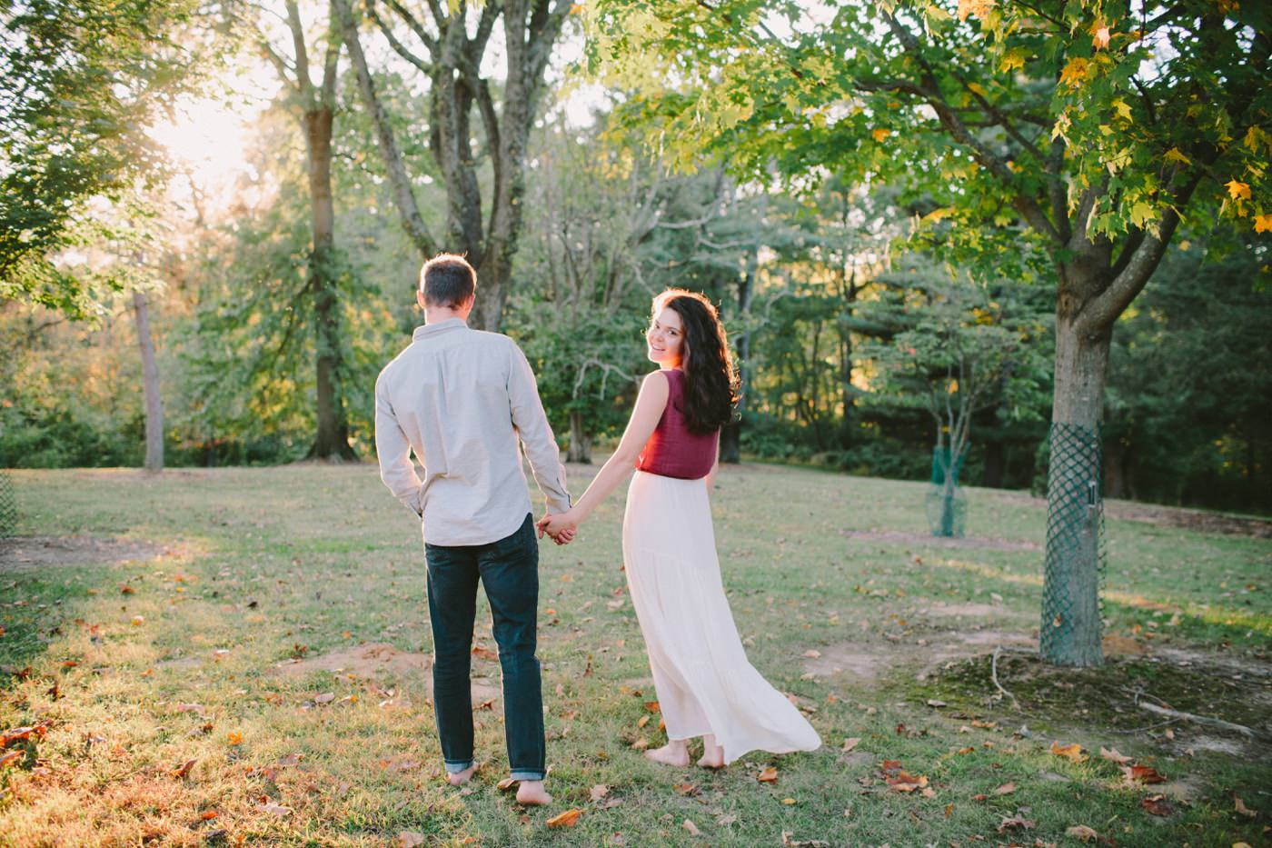 Tire Swing Photography | Cincinnati Ohio Woodland Forest Engagement session_0045