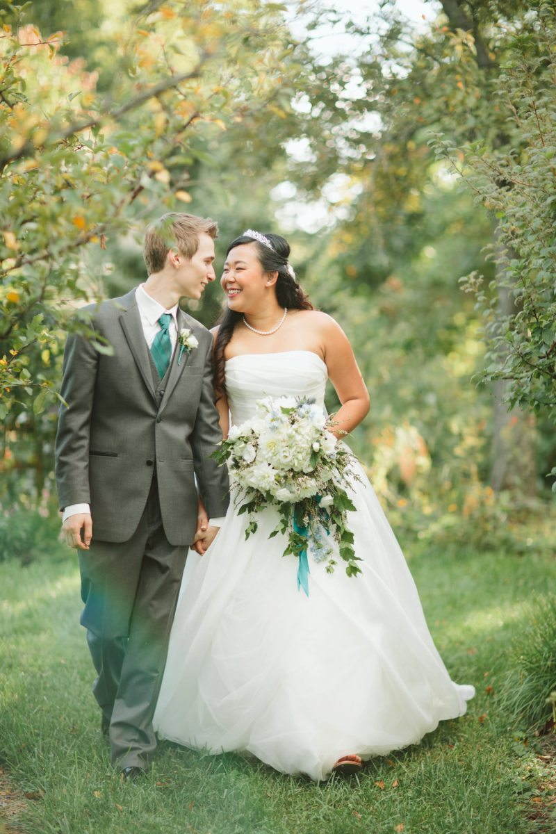 Misaki + Tyler | Gibson House Wedding
