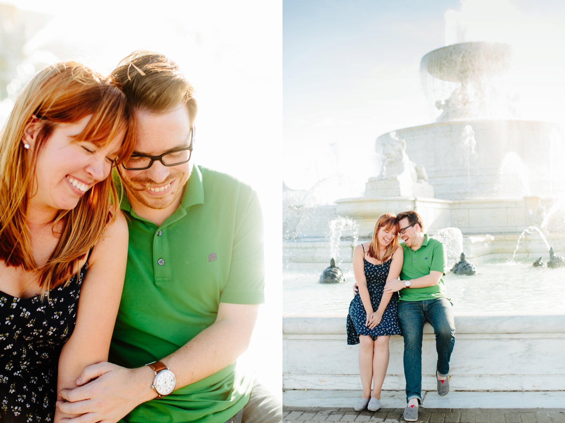 Tire Swing Photography | Detroit, Michigan Engagement Session | Belle Isle