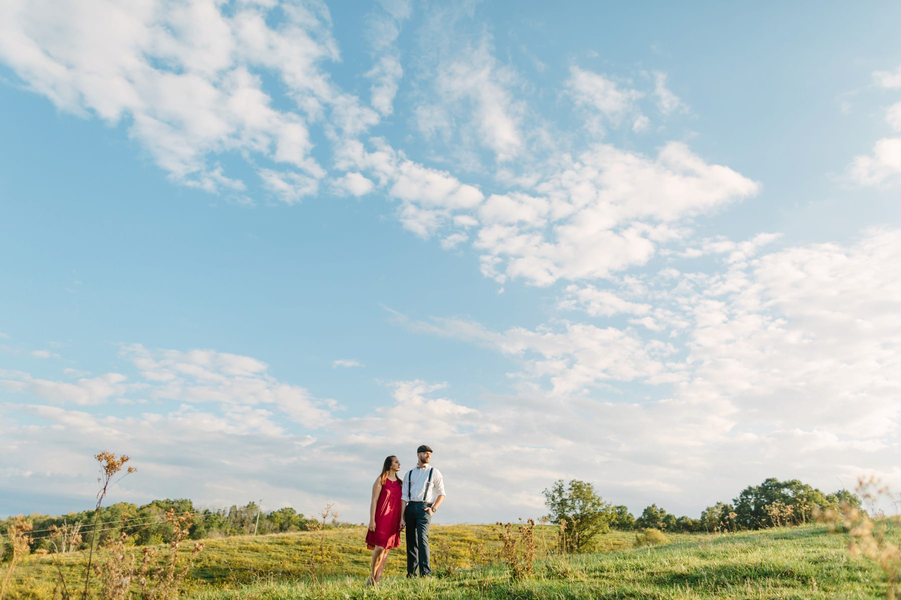 Tire Swing Photography | Kentucky Farm Engagement Session_0029