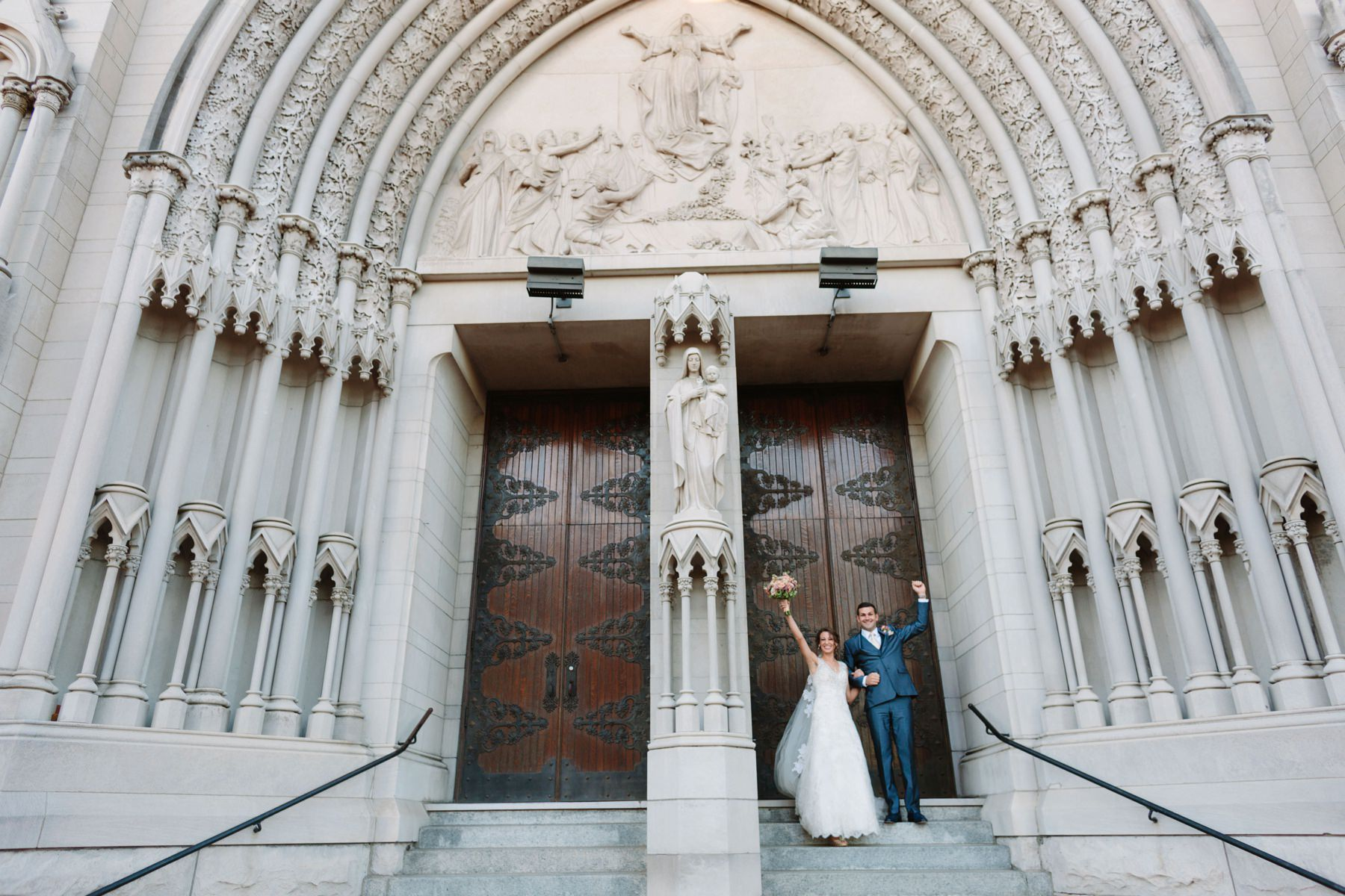 Tire Swing Photography | St. Mary's Cathedral Basilica of the Assumption | Downtown Cincinnati Wedding Photographers_0026