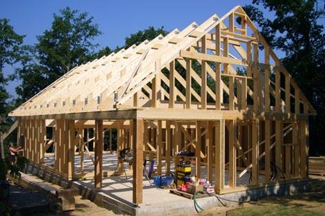MAISON OSSATURE BOIS EN KIT POUR AUTOCONSTRUCTION - Maisons ossature - Maison En Bois Autoconstruction