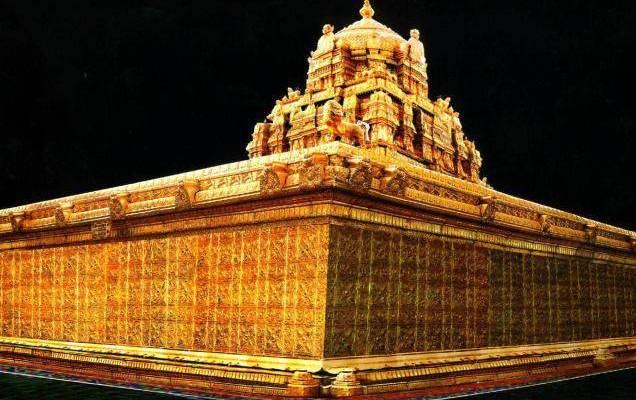 The-Amazing-Golden-Gopuram-of-The-Holy-Tirumala-Temple