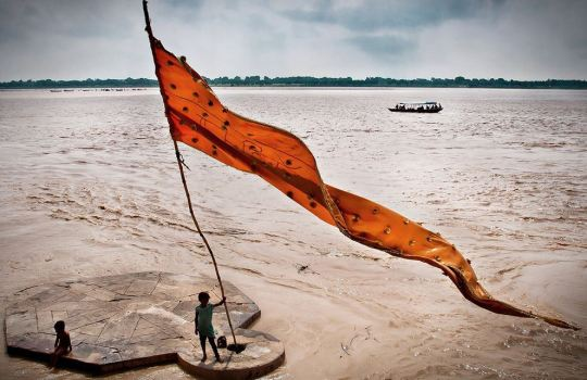 The-Holy-Ganges-River-In-India
