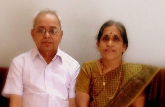 The Mystic Brahmin Sri Nemani Subbarao And His Wife Smt.Venkata Lakshmi