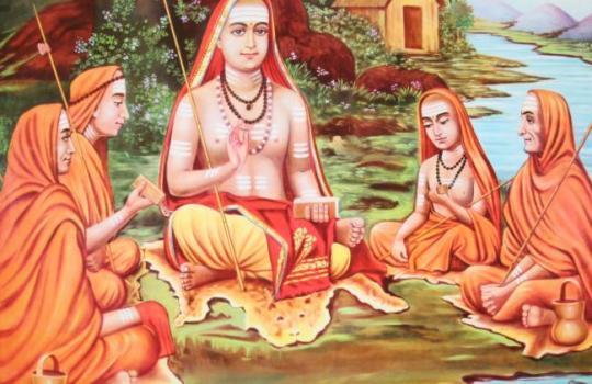 His Holiness Sri Adi Sankaracharya