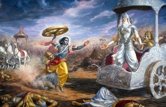 Lord Krishna During The Mahabratha War