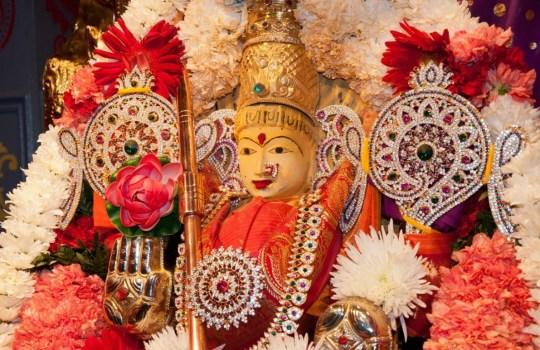 Goddess Adi Parashakthi at Parashakthi Temple