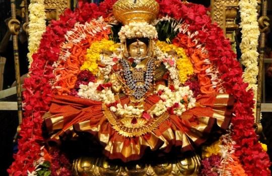 Goddess Sri Lalitha Sevi