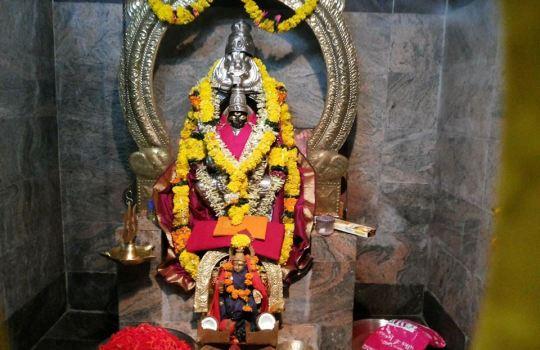 Holy Goddess Kanaka Durga In Sagara Durga Temple In Visakhapatnam