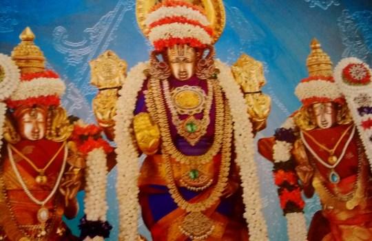Sridevi Bhudevi Sametha Lord Sri Venkateswara
