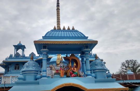 The Colorful ISKCON Temple In Rajahmundry Which Is Very Close To Our Resort