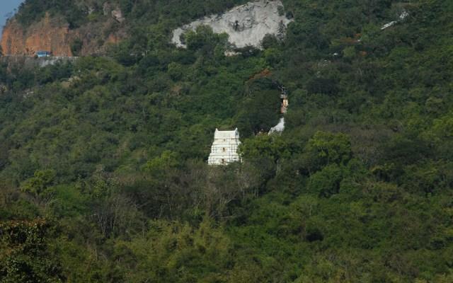 Aerial View Of Tirumala Hills