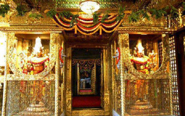 The Current Day Bangaru Vakili Of The Holy Tirumala Temple (2)