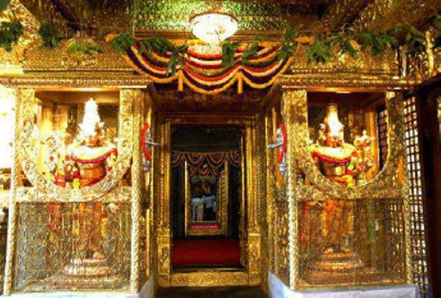 The Current Day Bangaru Vakili Of The Holy Tirumala Temple (2)