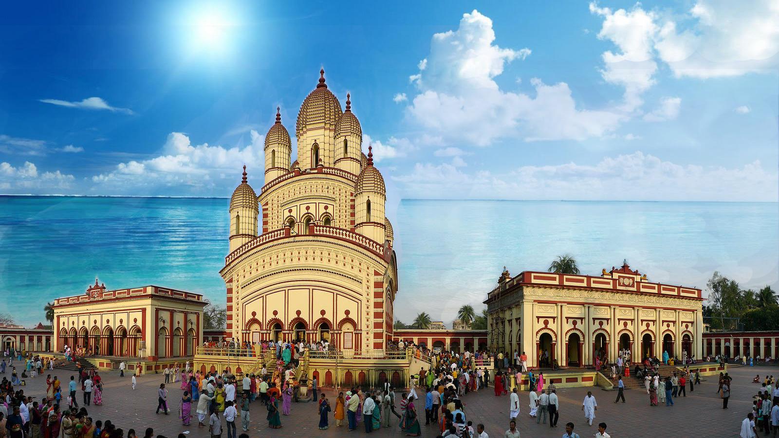 3d Wallpapers Of God And Goddess Dakshineswar Kali Temple Tirumalesa